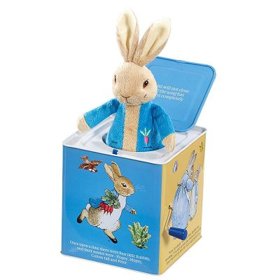 Peter Rabbit Jack-in-the-box